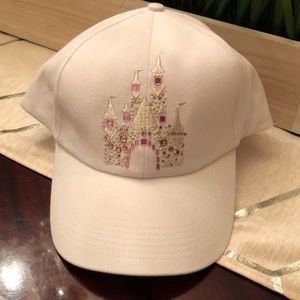 New Disney Parks Bejeweled Disneyland Cap Hat!